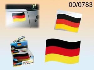 Automagnet Deutschlandflagge schwarz rot gelb
