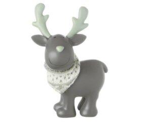 Deko Figur Elch - MILA Elch Gustavsons stehend, grau
