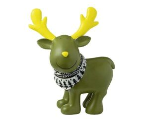 XXL Deko Figur Elch - MILA Elch Gustavsons stehend, grün
