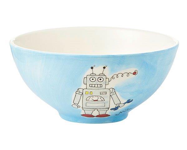 mila roboter schale keramik geschirr traumflug online shop das geschenkeparadies. Black Bedroom Furniture Sets. Home Design Ideas
