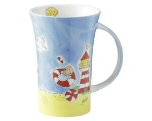 Mila Strandvergnügen Coffee Pot 500 ml Tasse - Becher - Keramik