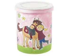 Mila mein Pony - Pferdeliebe - Vorratsdose - Keramik