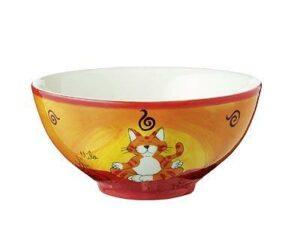 Mila Oommh - Yoga Katze - Schale - Keramik Geschirr
