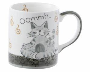 Mila Oommh Pure - Yoga Katze Becher 280