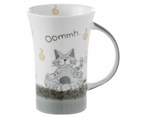 Mila Oommh Pure - Yoga Katze - Coffee Pot - 500 ml - Tasse - Becher - Keramik