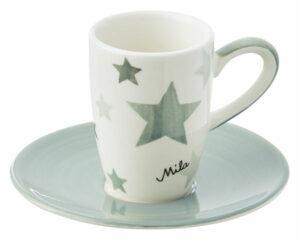 88403 Mila Espresso Grey Stars