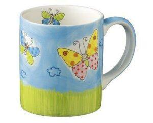 80047 Mila Lovley Butterflies Becher Schmetterling