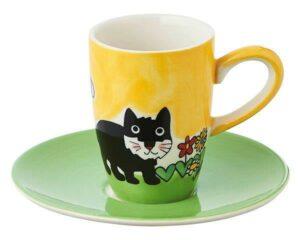 88141 Mila Katze Kasimir Espresso Set, Espressotasse Katze