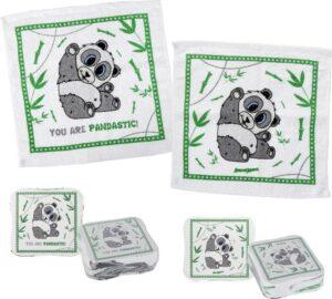 Magisches Handtuch Panda Zauberhandtuch - You are Pandastick! - Gästehandtuch Baumwolle