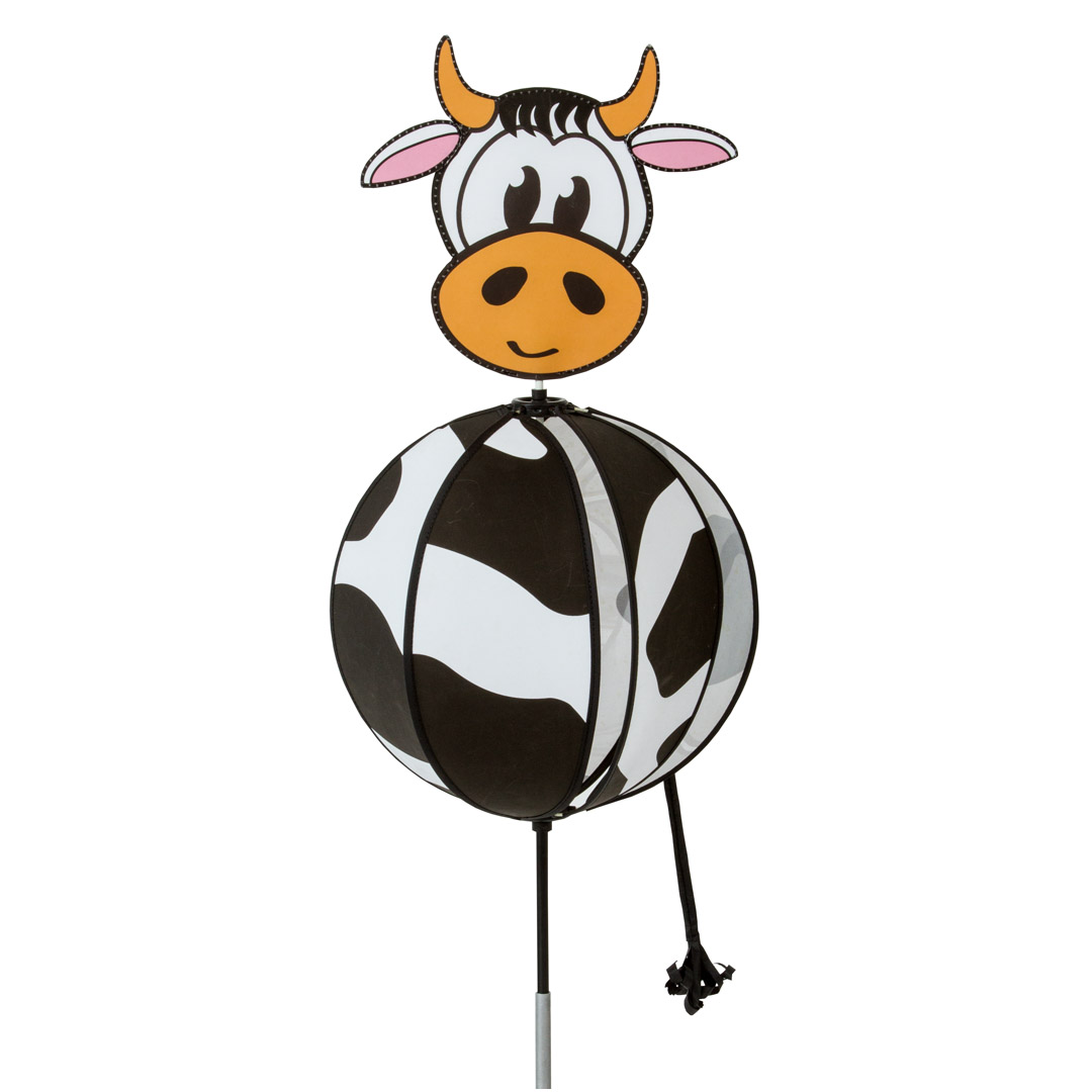Hq Spinning vento Chime del Gioco Garden Ball Ball Plug Cow Cow Wind Y7gybvf6