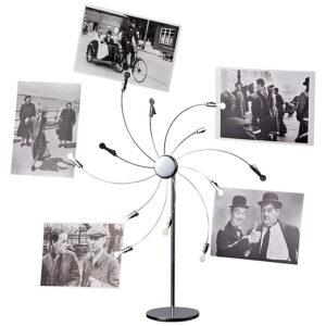 Memo- Foto- und Kartenhalter Ständer mit 12 Fotoclips