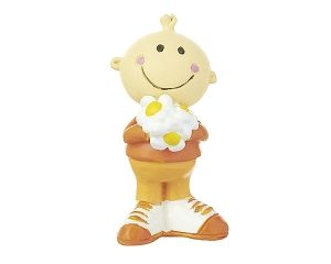 Mila Mr. Smile Figur - Thank you - Blumenbote in Geschenkbox