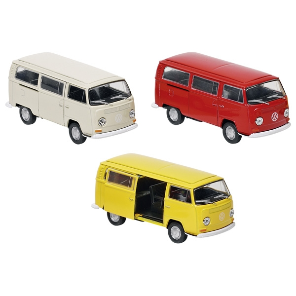 modellauto welly volkswagen bus t2 1972 spritzguss 1. Black Bedroom Furniture Sets. Home Design Ideas