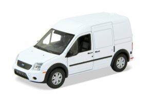 Modellauto Ford Transit Connect, 1:34-1:39 Kastenwagen mit Rückzugsmotor