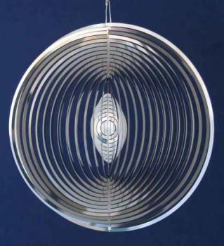 Spirale Ringe Edelstahl Mobile - Hochglanz poliert - Made in Germany