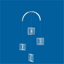 Mobile Edelstahlspirale Quadrate Minispiralen Edelstahl 3 x 40mm