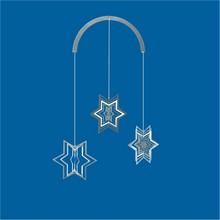 Sternen Mobile Edelstahlspirale Stern Minispiralen Edelstahl 3 x 50 mm