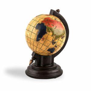 Spardose Globus - Sparbüchse Weltkugel - Reisekasse - Urlaubskasse