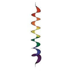 Windspiel Spirale Twister Rainbow 170 cm - Regenbogenspirale