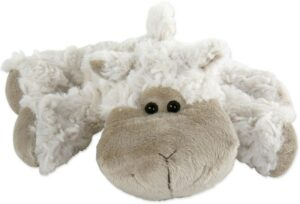 Kuscheltier Schaf Daniela, 22 cm, liegend - Plüschtier - Schmusetier Super Soft Plüsch