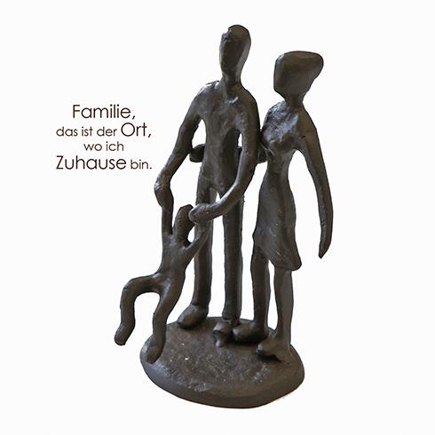 Familie Mini Skulptur