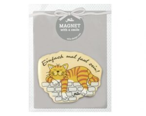 Mila Magnet Katze Oommh - Kater Garfield - Einfach mal faul sein!