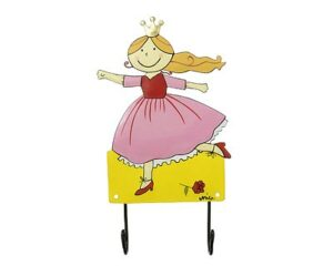 Mila Prinzessin Garderobe - Mila 2er Haken - Wandhaken 2069_1