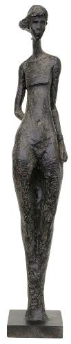 FrauenSkulptur HILDA die Lässige