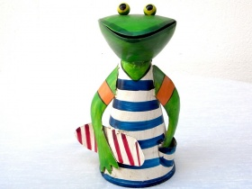 Zaunhocker Frosch mit Skateboard 211883-skate.jpg