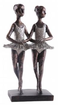 Frauen Skulptur Hilda - 2 Ballett Tänzerinnen, Ballerina