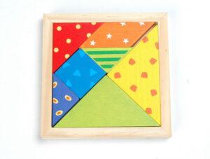Geduldspiel Kleinkinder Puzzle Tangram
