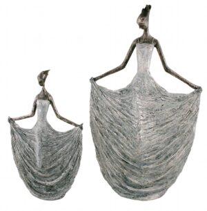 FrauenSkulptur Hilda - Tänzerin elegant