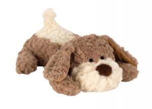 Wärmetier Hund Kuscheltier als Wärmekissen und Kältekissen - Plüschtier Körnerkissen mit Lavendel