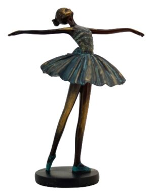 Ballett Skulptur Hilda - Ballerina, Tänzerin, Frau tanzend