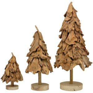 Nutur Holz Baum Skulptur - Tannenbaum TIMBA 40-100cm