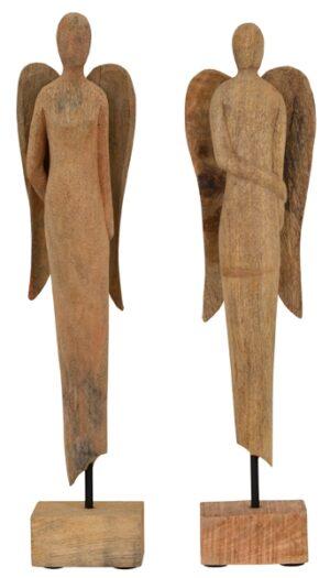 Holz Engel Skulptur
