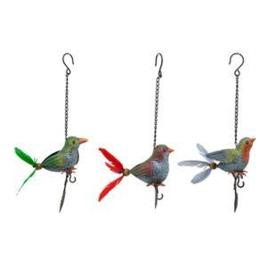 Windspiel Vogel Meisenknödelhalter - Vogelfutter Halter zum Aufhängen - Vogelhänger