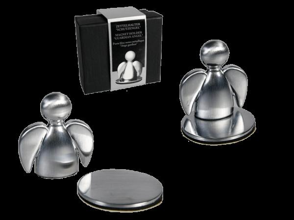 Autofahrer Schutzengel Parkscheinhalter, magnetisch - Zettelhalter-Magnethalter Engel-Notizhalter-Fotohalter