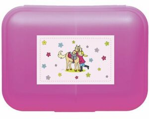 Mila mein Pony - Pferdeliebe - Lunchbox - Brotdose mit Trennwand