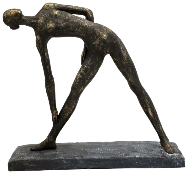 Gymnastik Skulptur - Yoga Skulptur Hilda