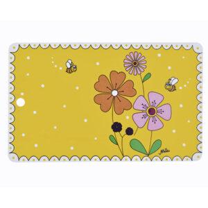 Mila Landblume Frühstücksbrettchen - Resopal - mit Loch zum Aufhängen 24522
