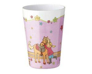26014 Mila Mein Pony Kinderbecher Becher Pferd Pony Kinderbecher Kunstoff Melamin Bibi und Tina Becher