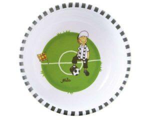 26031 Mila Tooor! Fußball Kinderschale - Melamin Fußball Schale
