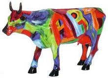 CowParade Art of America große Kunst Kuh