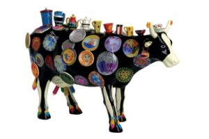 Cowparade The Moo Potter - XL Cows (Resin) - Xl Kuh - Extra Large