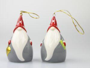 Weihnachtsglocke - Glocke Nikolaus - Santa Wichtel Weihnachtsmann