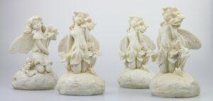 Elfe Dekofigur aus Polyresin - Blumenmädchen