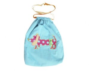 Ginger Hund Stoffbeutel - Dackel Shoppingtasche