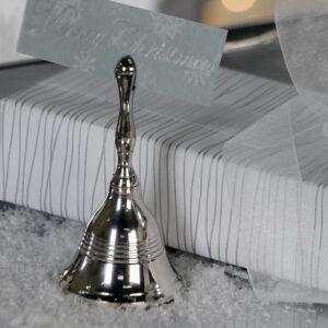 Tischglocke Kartenhalter Glocke Xmas 33493