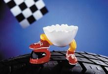 Speedy & Friends Eierbecher Winny der rote Raser - Formel 1 Früchstücksgedeck